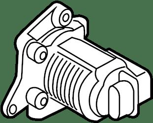 Volkswagen Jetta Combination valve. Secondary air