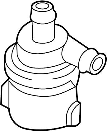 Volkswagen Touareg Engine Auxiliary Water Pump. LITER