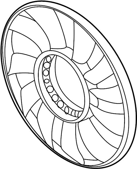 2003 Volkswagen Passat Wagon Engine Cooling Fan Clutch