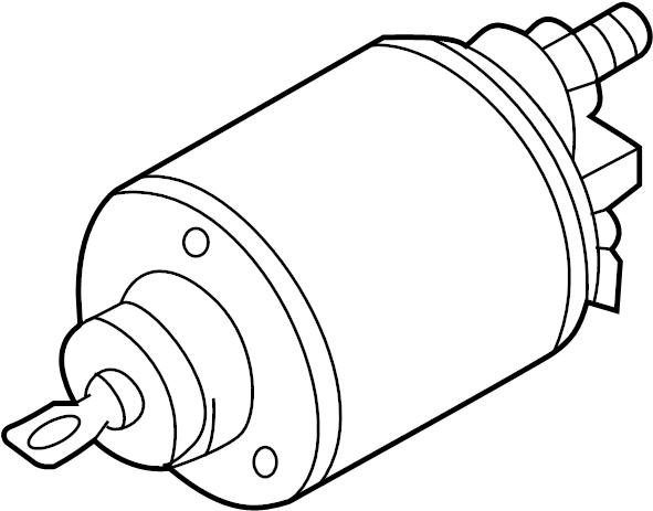 2006 Volkswagen Jetta 2.5 2.5L 5 cylinder A/T Starter