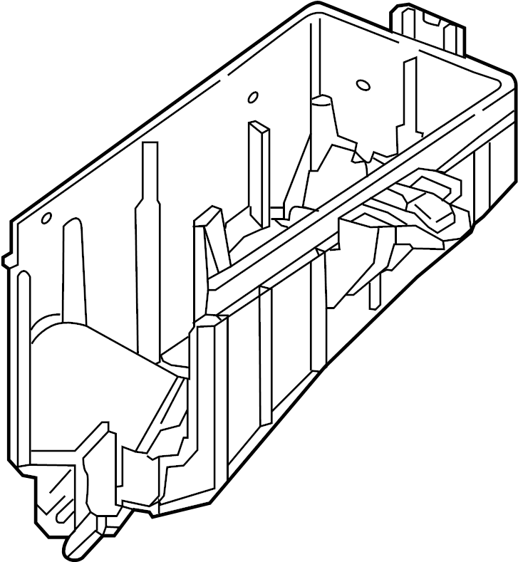 2018 Volkswagen Atlas Housing. Fuse. Compartment, engine