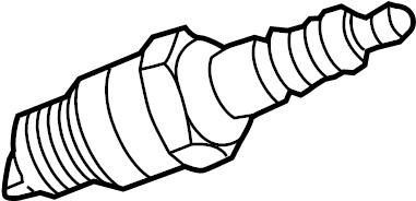 Volkswagen Touareg Spark Plug. LITER, SYSTEM, IGNITION