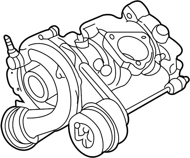 2001 Volkswagen Passat GLS Sedan 1.8L A/T FWD Turbocharger