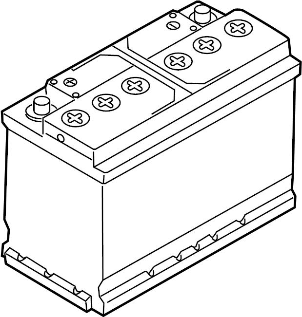 2016 Volkswagen Jetta Vehicle Battery. Amp, Hour