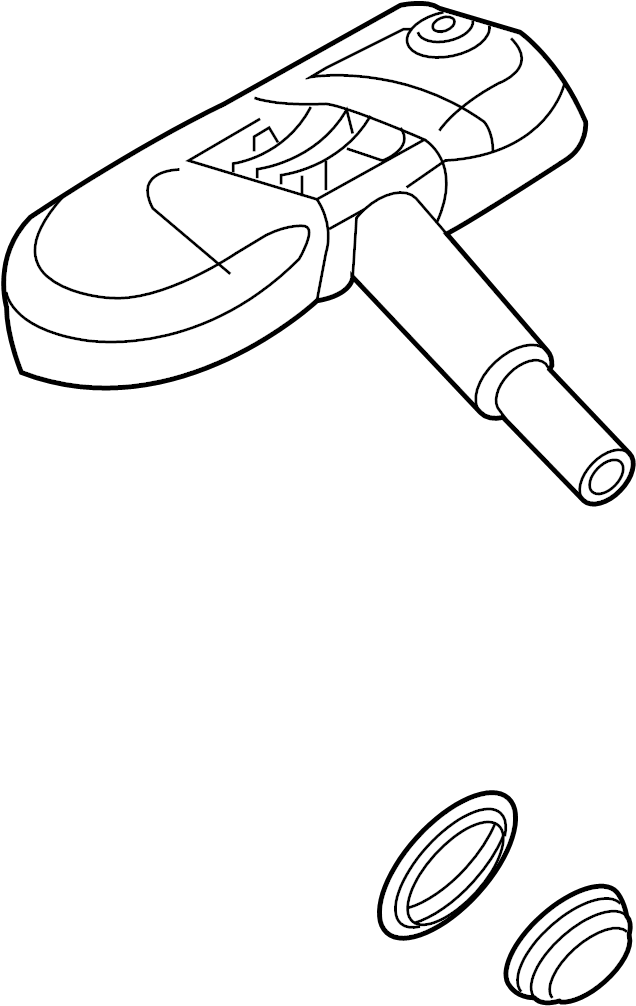Volkswagen Jetta Tire Pressure Monitoring System Sensor