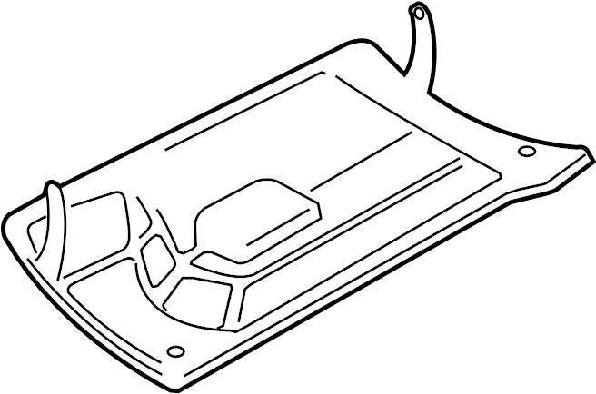 2003 Volkswagen Beetle Glove Box Door. Gray, Black