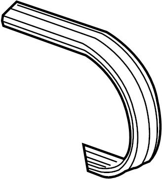 2011 Volkswagen Jetta Accessory Drive Belt. LITER, Ribbed