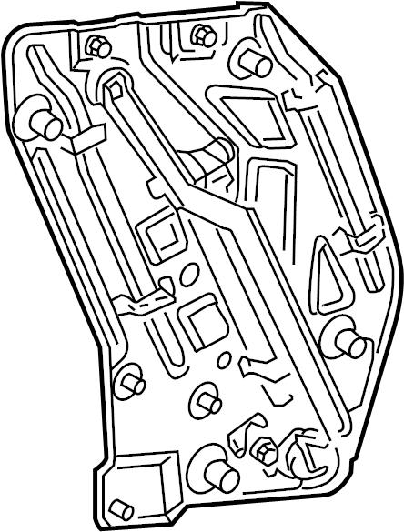 2005 Volkswagen Beetle Convertible Lifter. Regulator
