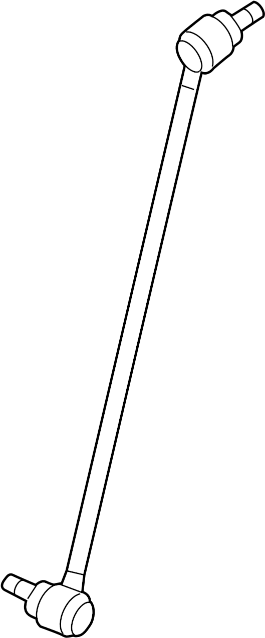 Volkswagen Beetle Link. Stabilizer. Front, Right, Left