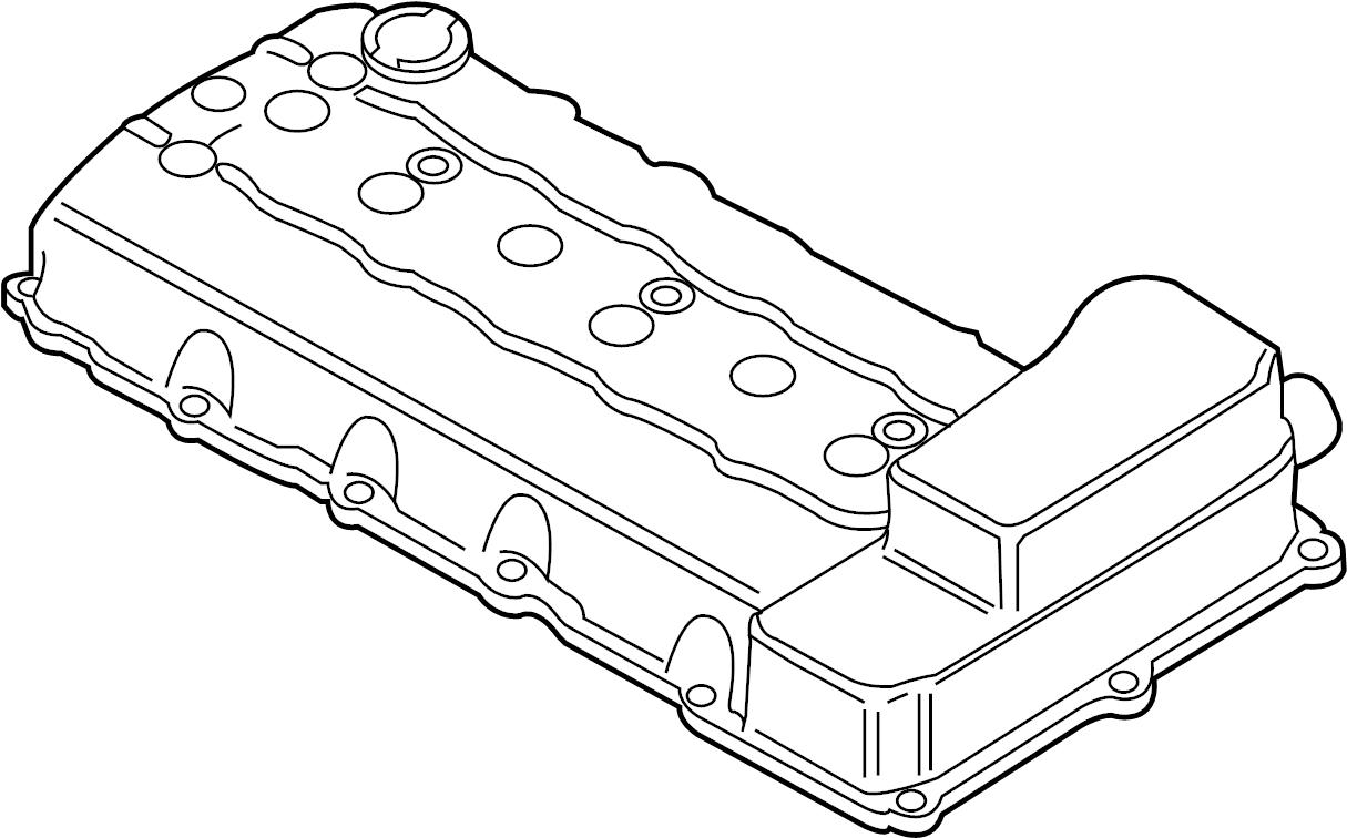 2012 Volkswagen Passat Engine Valve Cover Gasket. Includes