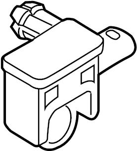 Volkswagen Touareg TDI Sport Air Bag Impact Sensor (Front