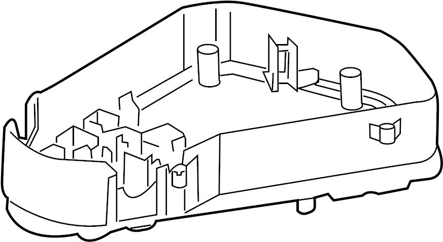 2013 Volkswagen Touareg Fuse box. Passenger compartment
