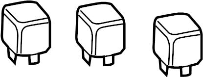 2005 Volkswagen Beetle Convertible Power relay. Order