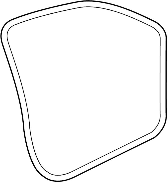 2015 Volkswagen Tiguan Door Seal (Lower). FRONT, Left