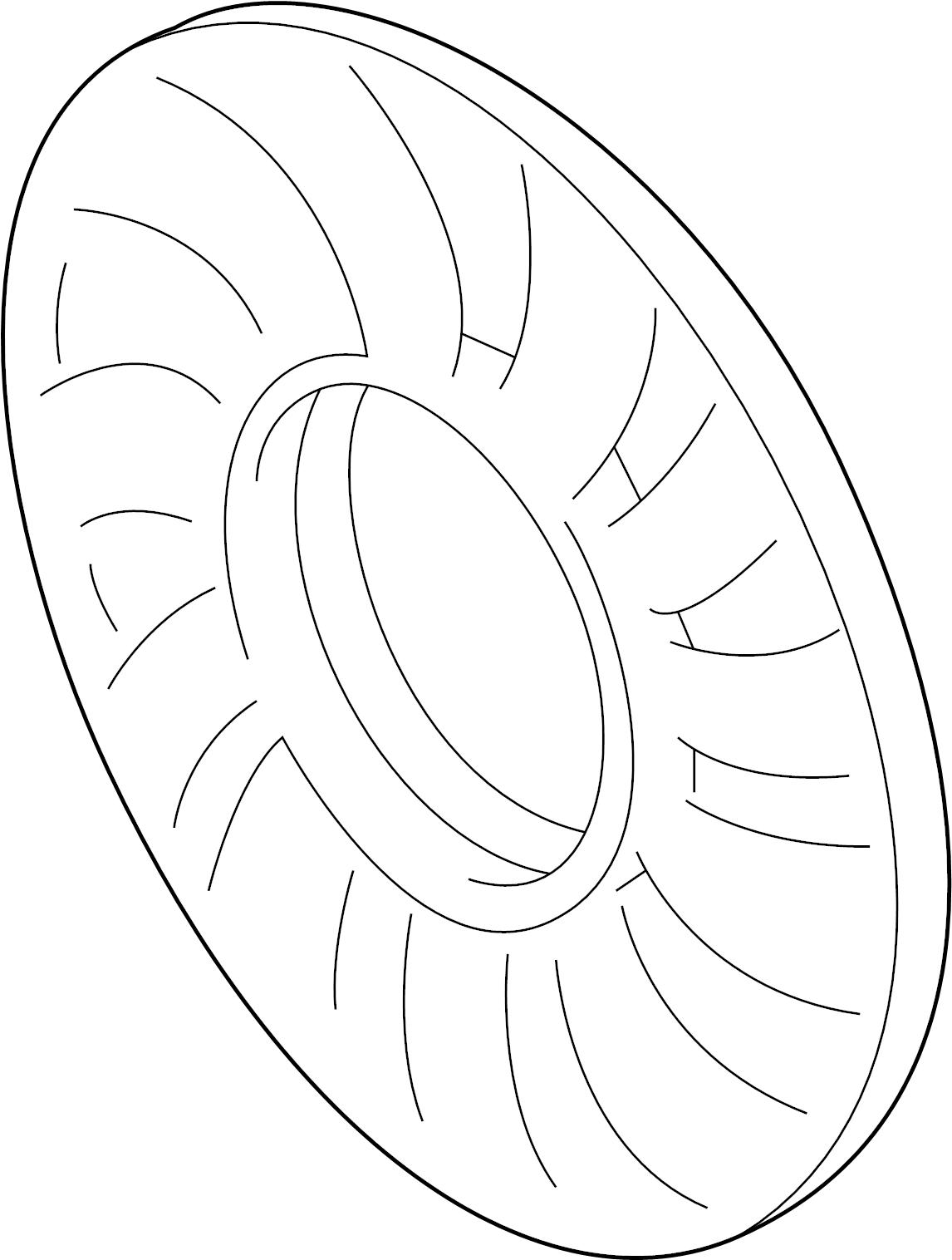 Volkswagen Passat Wagon GL TDI Wagon Engine Cooling Fan