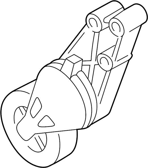 2003 Volkswagen Passat Accessory Drive Belt Tensioner