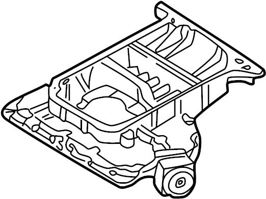 Volkswagen Passat Wagon Engine Oil Pan (Upper). LITER