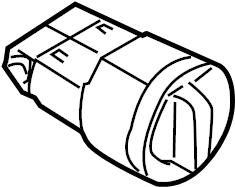 2010 Volkswagen Tiguan Headlight Switch. Interier