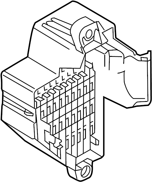 2015 Volkswagen CC Fuse Holder. PASSENGER COMPARTMENT
