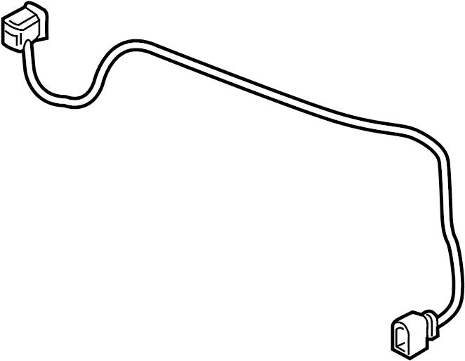 2016 Volkswagen Passat Wire harness. 2016-19, ELECTRICAL