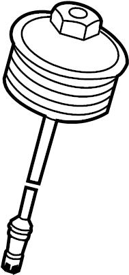 2013 Volkswagen Passat Cap. Engine Oil Filter Housing