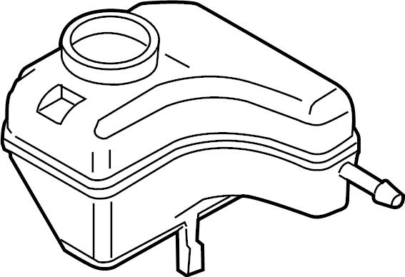 Volkswagen Passat Brake Master Cylinder Reservoir. PANEL