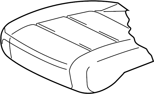 2017 Volkswagen Passat R-Line Sedan Seat Cover