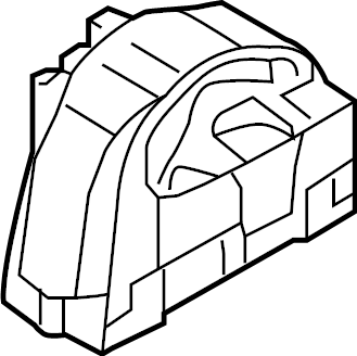 2009 Volkswagen Passat Wagon Engine Mount (Front