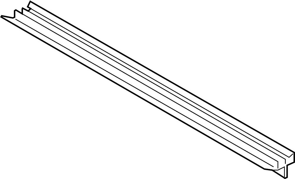 2019 Volkswagen Jetta Seal. Radiator. (Lower). Intercooler