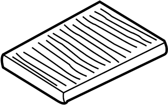 Volkswagen Beetle Cabin Air Filter. POLLENFILT, Odor