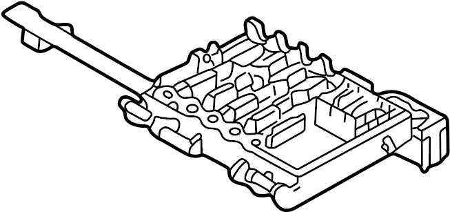 2002 Volkswagen Jetta GLI Fuse Box. Amp, ELECTRICAL, Fan