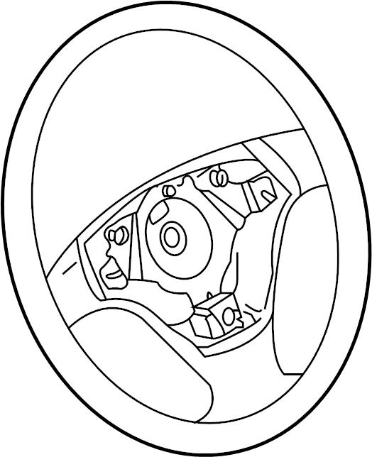 Volkswagen Jetta Steering Wheel. Leather, Spoke, WLeather