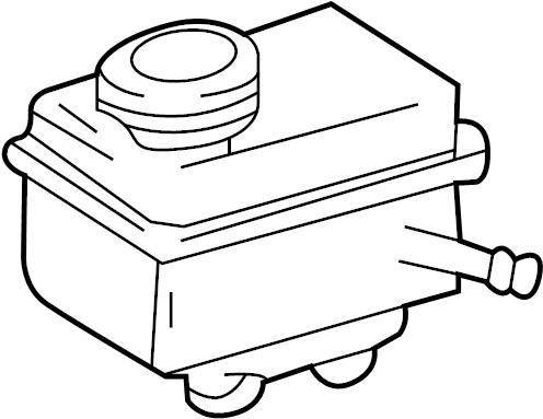 Volkswagen Beetle Base Hatchback Brake Master Cylinder
