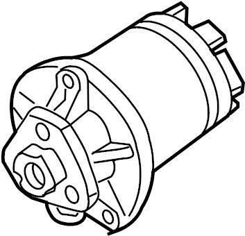 2002 Volkswagen Jetta GLX Sedan 2.8L VR6 V6 A/T Engine