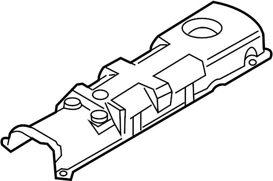 Volkswagen Beetle Engine Valve Cover Insulator. 1998-2003
