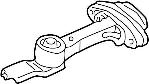 Volkswagen Jetta GLI Rear support. TRANSMISSION mount