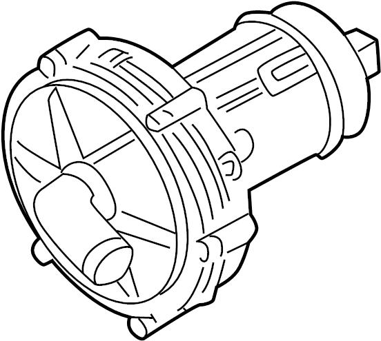 Volkswagen Jetta Secondary Air Injection Pump. EMISSION