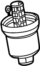 2014 Volkswagen Cap. Filter housing. Oil filter hsng