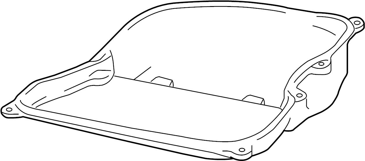 2013 Volkswagen Jetta Oil sump. Transmission pan