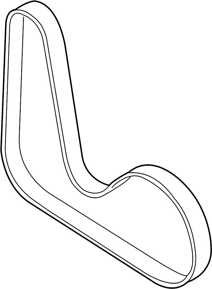 Volkswagen Tiguan Serpentine Belt. WTiming, RIBBEDBELT