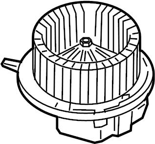 Volkswagen Tiguan Motor. Blower. HVAC. Fan. HEATER