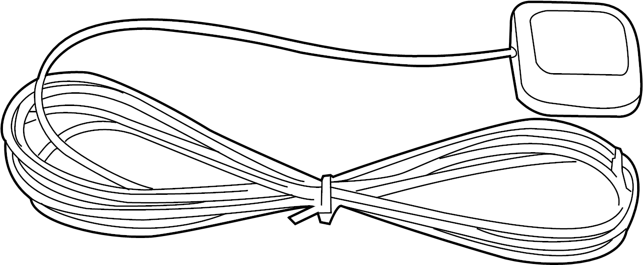 Volkswagen Beetle Antenna. Antenna assy. Roofaerial