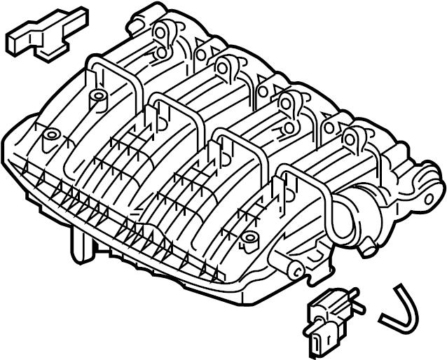 2014 Volkswagen Passat Engine Intake Manifold. LITER
