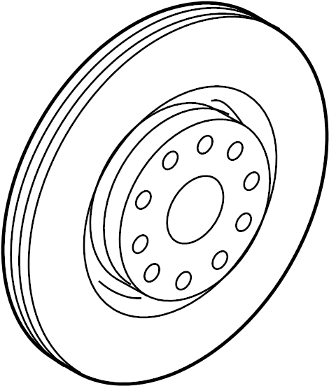 2013 Volkswagen Jetta SE Sedan 2.5L 5 cylinder A/T Disc