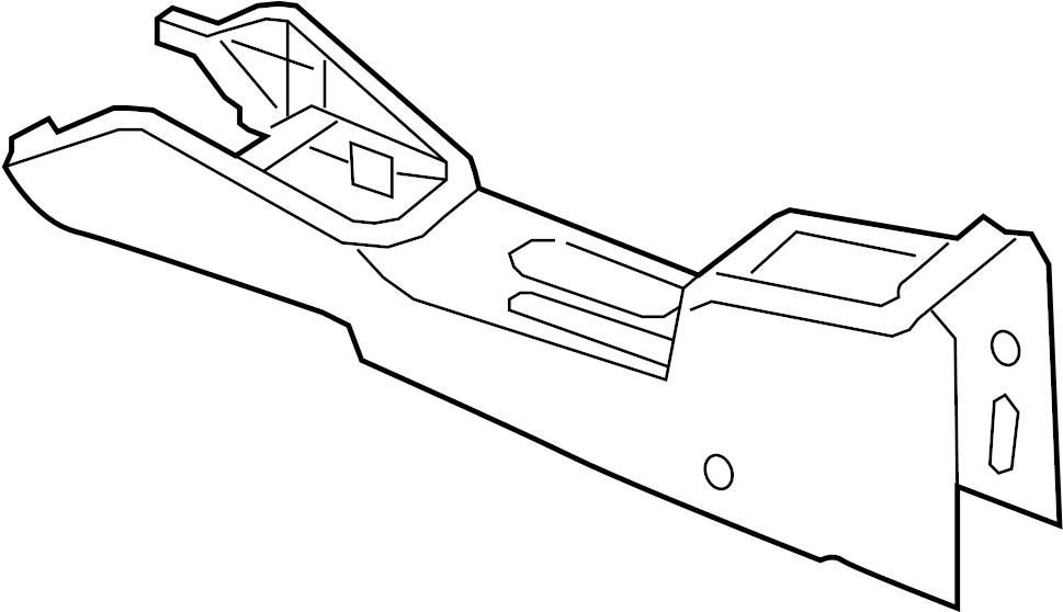 2012 Volkswagen Jetta Center Console (Front