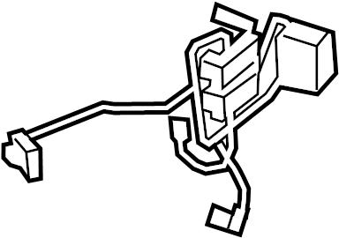Volkswagen Golf R Air Bag Wiring Harness. Steering