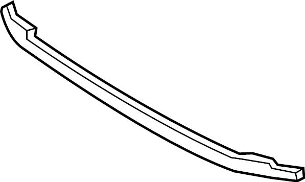 Volkswagen Jetta Stone Deflector (Front). W/GLI. W/O GLI
