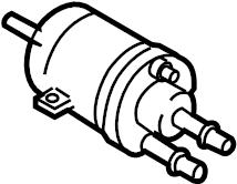 2013 Volkswagen Jetta GLI Fuel Filter. COMPONENTS, SYSTEM