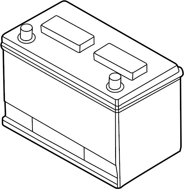 Volkswagen Routan Vehicle Battery. 600 Amp. Power Source