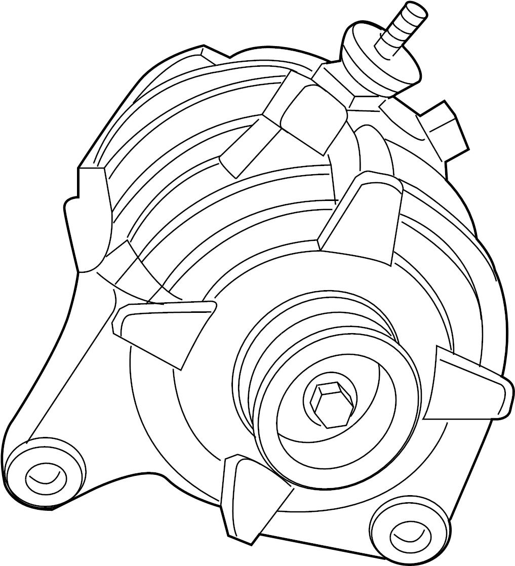 2009 Volkswagen Routan Alternator. Serviced Only As